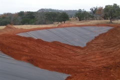 liner cover dirt